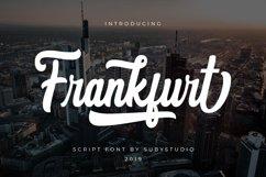 Frankfurt Script Font Product Image 1