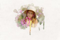 30 Watercolor Portrait Mask Overlays Product Image 6