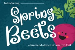 Spring Beets Font Product Image 1