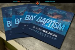 Baptism Sunday Church Flyer Template Product Image 3