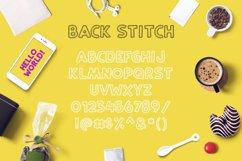 Back Stitch Product Image 3