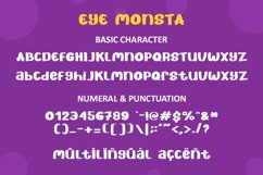 Eye Monsta - Bold Display Font Product Image 4