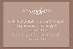 Manda - Modern Script Font Product Image 8