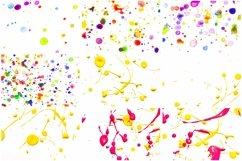 100 Photographs of Real Paint Splatters and Drips! Product Image 6
