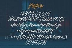 Web Font Nortons - Handrawn Brush Script Font Product Image 5