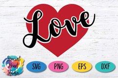 Love SVG - Valentine Heart Product Image 2