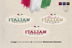 Italian Trattoria Menu & Logo Product Image 2