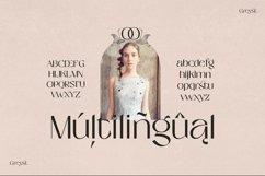 Greyst - Elegant Ligature font Product Image 5