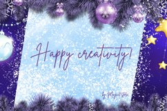 Vertical Christmas background. Cards for greeting. Product Image 3
