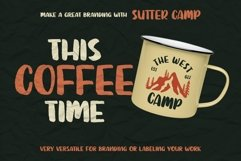 SUTTER CAMP - Adventure Typeface Product Image 6
