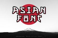 Asian font / japanese style / handmade font. Product Image 1