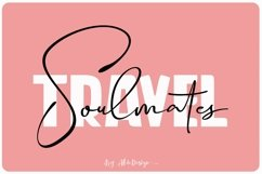 Travel Soulmates // Font Duo - WEB FONT Product Image 1