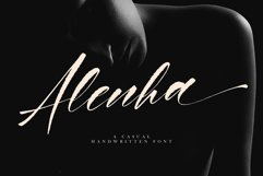 Alenha Casual Handwritten Product Image 1