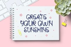 Baby Girl - Cute & Playful Display Font Product Image 3