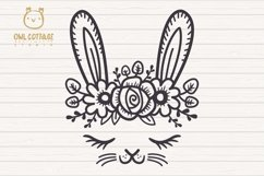 Easter Bunny Face svg , Easter Svg, Easter Decor Product Image 3