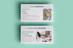 PPT Template | Company Presentation - Green and Marble Product Image 3