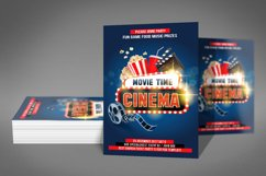 Cinema Movie Flyer Product Image 3