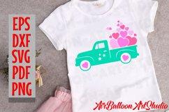 Valentines SVG Valentines Day Truck Svg Love Svg Valentine Product Image 7