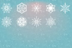 54 Vector Snowflakes Product Image 5