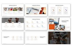 Lightening of Business Presentation Template Product Image 2
