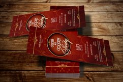 Vintage Party Ticket Template Product Image 2