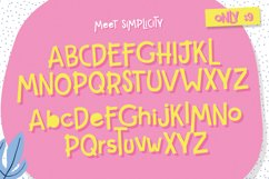 Simplicity Font Product Image 4