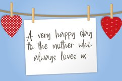 Welcome Mothers   Lovely Calligraphy Font Product Image 2