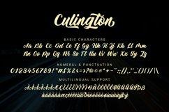 Culington - Web Font Product Image 4