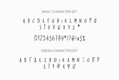 Dead Inside Chilling Web Font Product Image 5