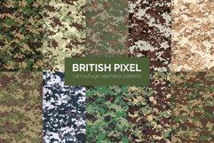 British Pixel Camouflage Patterns Product Image 1