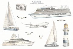 Cruise Watercolor collection Product Image 6