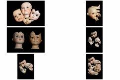 113 Broken Halloween Horror Doll Parts Head Legs Hands Product Image 2