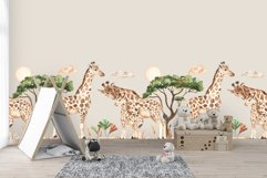 Giraffes. Watercolor collection Product Image 9