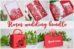 Roses wedding bundle svg Product Image 1