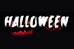 Zombie Attack Halloween Font Product Image 4