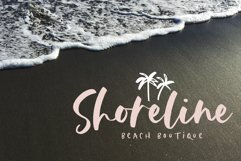 The Coast - Handwritten Script Font with Extras Product Image 4