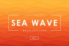 Sea Wave Abstract Backgrounds 1 Product Image 1