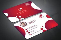 Business Card with Circle touch Visiting Card Product Image 4