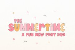 Summertime Font Duo Product Image 1