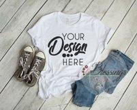 Bella Canvas Mockup Bundle T Shirt Flat Lay Bundle 5 images Product Image 4