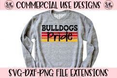 Bulldogs Pride SVG DXF PNG Product Image 1