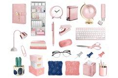 Planner girl clipart, girlboss Businesswoman blogger Product Image 5
