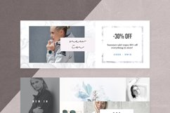 Canva - Marble Facebook Cover Pack Product Image 9