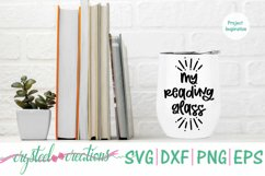 Book Wine Bundle SVG, DXF, PNG, EPS Product Image 2