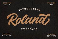 Roland Typeface Product Image 2