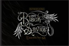 Black Savior - decorative calligraphy Display Font Product Image 1