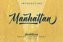 Manhattan Brush Script Font Swash Product Image 2
