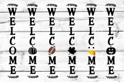 Welcome Porch Sign Bundle SVG, DXF, PNG, EPS Product Image 1