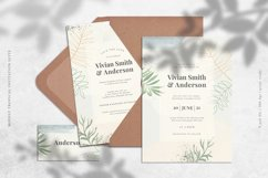 Modest Tropical Invitation Suite Product Image 2