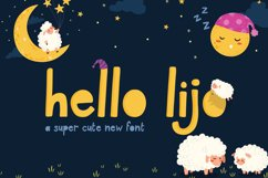 Hello Lijo Font Product Image 1